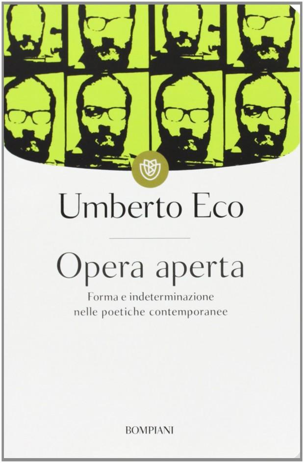 ウンベルト・エーコ『開かれた作品』の第9版表紙、2013年